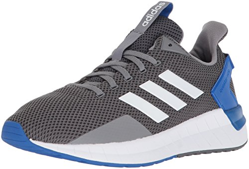 adidas Men's Questar Ride Running Shoe, Grey Three/White/Grey Four, 12 M US