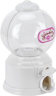 Mini distributeur de boules de gomme en plastique, cadeau de jardin d'enfants portatif de machine de bonbons pour enfants(...