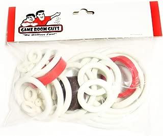 Game Room Guys Gottlieb Jacks Open Pinball White Rubber Ring Kit