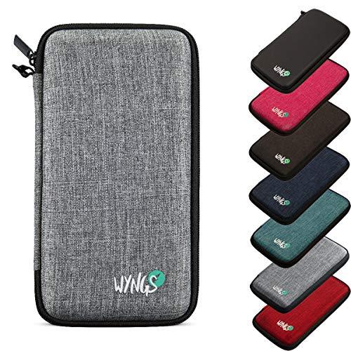 Schutztasche kompatibel mit TI 84 Plus CE-T hellgrau