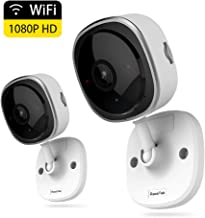 Wireless Security Camera 1080P,180 Degree Panoramic Camera with Motion Detection,Night..