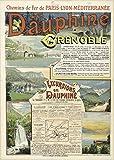 Le Delphine Grenoble Poster Reproduktion, Format 50 x 70