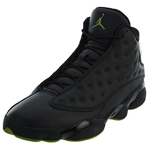 Nike Air Jordan 13 Retro 414571-042 Herren Basketballschuhe Schuhe Schwarz - Grösse: EU 45 US 11