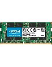 Crucial CT16G4SFD8266 Memoria RAM de 16 GB (DDR4, 2666 MT/s, PC4-21300, Dual Rank x 8, SODIMM, 260-Pin)