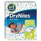 drynites migros Klebestreifen halten die Einweg-Matte sicher an Ort und Stelle auf dem Betttuch Ihres Kindes (empfohlen für die Verwendung auf 100 % Baumwolle/Flanell).