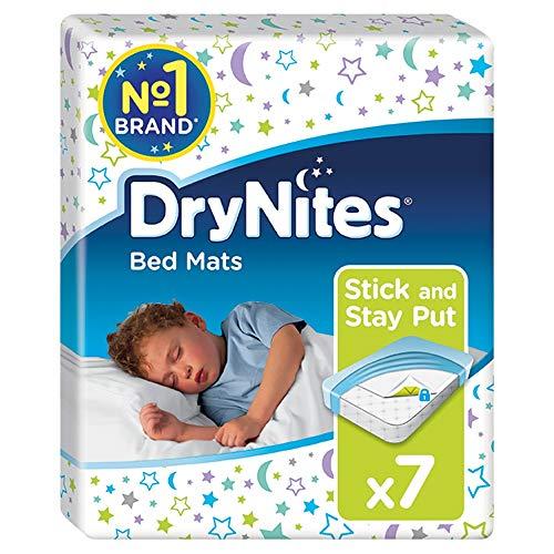 Huggies DryNites Einweg-Bettmatten, Matratzenschoner, 7 Matten insgesamt