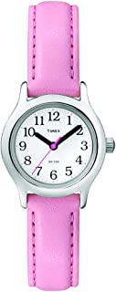Girls T79081 My First Easy Reader Pink Faux Leather Strap...