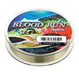 Floating Monofilament 15LB Test 300 Yard Low Vis Green Fishing Line Mainline Blood Run Tackle