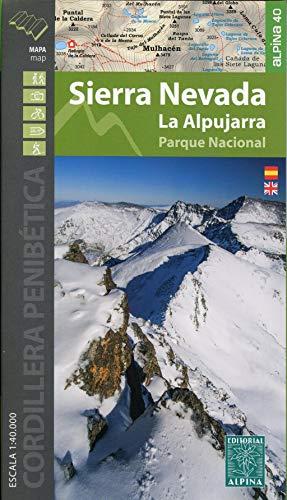 Wanderkarte Sierra Nevada - La Alpujarra 1:40 000