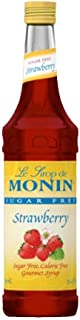 monin strawberry syrup sugar free
