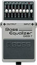 powerful Guitar pedal with BOSS 7-band graphic bass EQ (GEB-7)