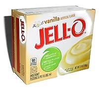 Jell-O Vanilla Instant Pudding & Pie Filling 3.4 Ounce (96g) (5 Packs) [並行輸入品]