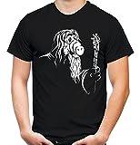 Gandalf Männer und Herren T-Shirt | Spruch Alf Outfit Geschenk (XXXL, Schwarz)