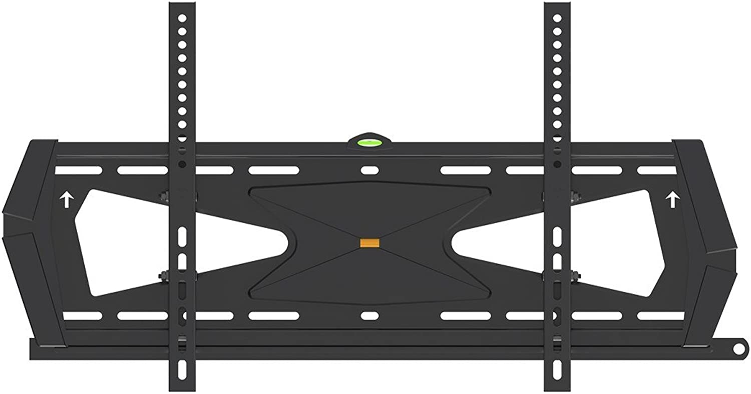 Monoprice Tilt TV Wall Mount Bracket - for TVs 37in to 70in Max Weight 88lbs VESA Patterns Up to 600x400 Security Brackets Works with Concrete & Brick UL Certified