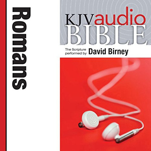 King James Version Audio Bible: The Book of Romans audiobook cover art