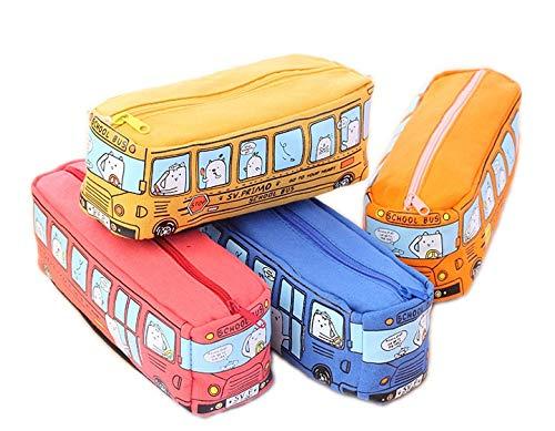 Papelería LMH 1 estuche de lona grande para lápices de coche, suministros escolares, estuche para lápices, bolsa de papelería, bolsa de almacenamiento para bolígrafos, dispensador (tamaño B: B)