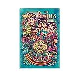 The Beatles Poster, dekoratives Gemälde, Leinwand,