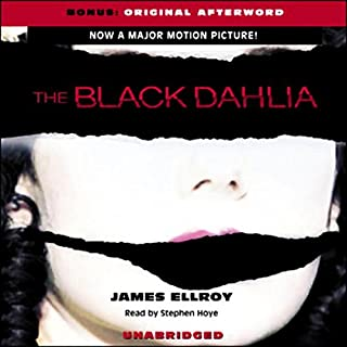 The Black Dahlia audiobook cover art