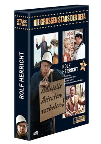 Rolf Herricht - Die grossen Stars der DEFA [4 DVDs]