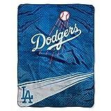 MLB Los Angeles Dodgers 'Speed' Raschel Throw Blanket, 60' x 80'