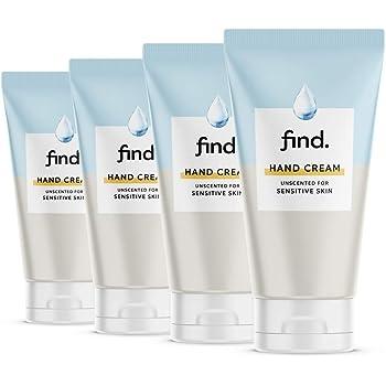 FIND - Crema Mani per pelli sensibili - Non profumata (4x75ml)