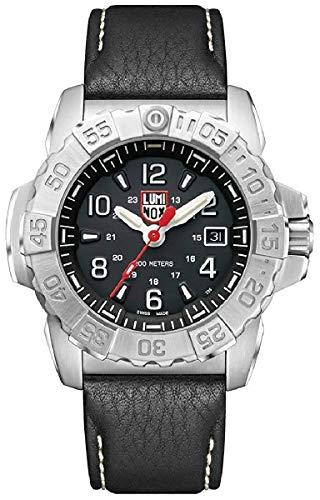 [ルミノックス]LUMINOX 腕時計 ネイビーシールズ 3250シリーズ 45mm ブラック 3251 メンズ [並行輸入品]