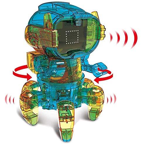 Intelligentes Roboterspielzeug für Kinder, DIY Building Scientific Robot Kit, Pädagogisches Wissenschaftsspielzeug...