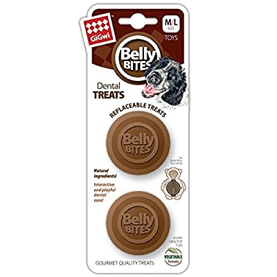 GiGwi Belly Bites Dog Treats for Belly Bites Toy