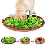 WANGQI Alfombra para perros y mascotas, alfombrilla para el chupete lento, cuenco para entrenamiento de Nosework, juguete de alimentación para perros