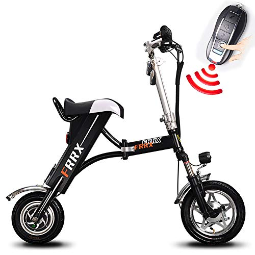 Review FJW 12 Electric Bike, Unisex Suspension Folding Bike, E-Bike 250W, 36V 12Ah Li-ion Battery, ...