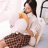 Ankepwj Cute Corgi Ass Plush Corgi Pillow Hip Hand Warmer Cartoon Animal Sofa Cushion Plush Toy Dog Kid Toy 38cm A
