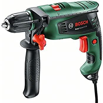 Bosch Home and Garden 0603130100 Trapano Battente EasyImpact 570, W, 230 V, Verde