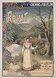 Mont Dore Auvergne Poster, Reproduktion, Format 50 x 70 cm,