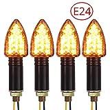 Proster Blinker Licht 4 Stück E-markierte wasserdichte Blinker Licht 15-LED Flexible Blinker Lampe...
