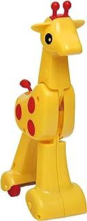 Brinquedo para Bebe Gina Girafa com Fricção, Elka, Multicor