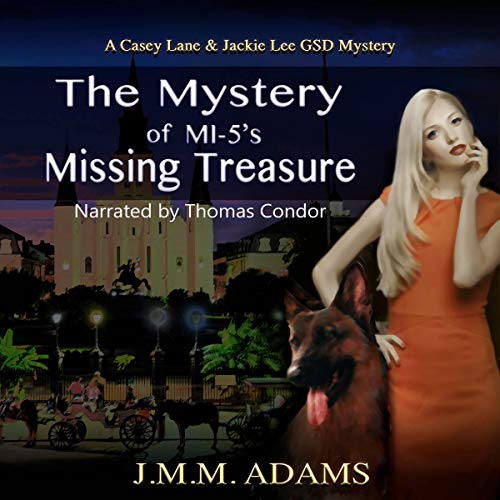 The Mystery of MI-5's Missing Treasure audiobook cover art
