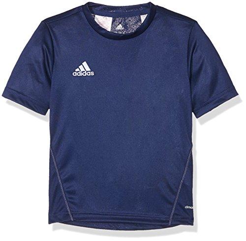 adidas Coref TRG JS Y Camiseta, Niños, Azul (Azuosc/Blanco), 164