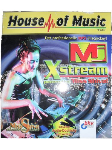 MJ Xstream, Der professionelle MP3-Discjockey, 1 CD-ROMFür Windows 95/98/NT 4.0. Mit Audio-Doohicky zum Vorhören