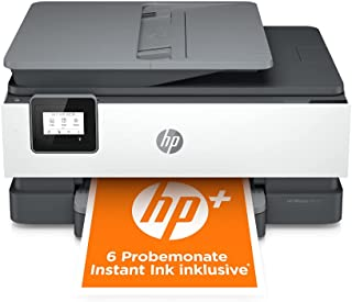 HP OfficeJet 8012e Multifunktionsdrucker (HP+, A4, Drucker, Scanner, Kopierer, WLAN, Duplex, HP ePrint, Airprint, mit 6 Probemonaten HP Instant Ink Inklusive) Basalt