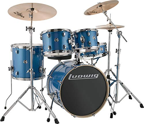 Ludwig Element Evolution 5-piece Drum Set with Zildjian I Cymbals - 20