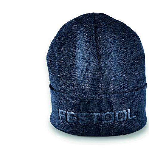 Festool 202308 Gorro de punto, Azul oscuro