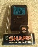 Sharp Digital Alarm Clock SPC486A with Countdown Timer, Alarm Time Display, Calendar Display, & Indoor Temperature