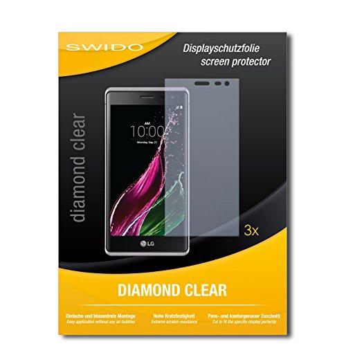 3 x SWIDO® Schutzfolie LG Zero Bildschirmschutz Folie