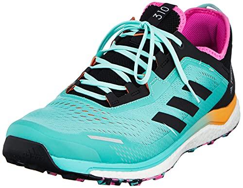 adidas Terrex Agravic Flow, Zapatillas de Trail Running Hombre, MENACI/NEGBÁS/ROSCHI, 44 EU
