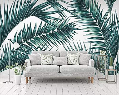 Fondo de pantalla de planta de selva tropical sala de estar hogar fondo de pared 3d papel tapiz 250×175cm