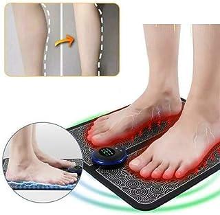 EMS masajeador de pies para remodelación de piernas - Terapia de masaje de pulso muscular eléctrico, promueve la circulación sanguínea, alivio del dolor muscular, para uso en el hogar y la oficina