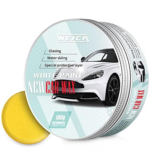 WEICA Car Wax White Solid