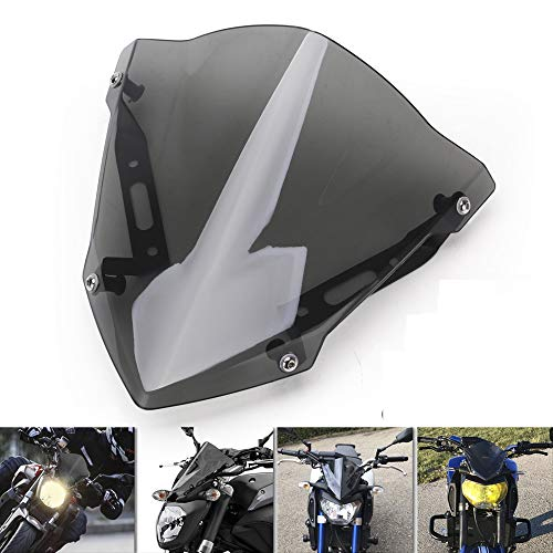 Motorcycle Accessories Front Windshield Windscreen Wind Deflectors for Yamaha Mt-07 Fz-07 2018 2019 2020