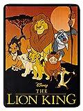 The Northwest Company Disney Lion King Pride Friends Fleece Super Plush Throw Blanket 46' x 60' (117cm x 152cm)