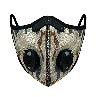 Riding Hanging Ear Face Macks, Bicycle Bandanas Bandanas, Outdoor Dustproof, Anti-Haze, Breathable Activated Carbon Macks